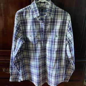 Express Men's Modern Fit Button Down Shirt